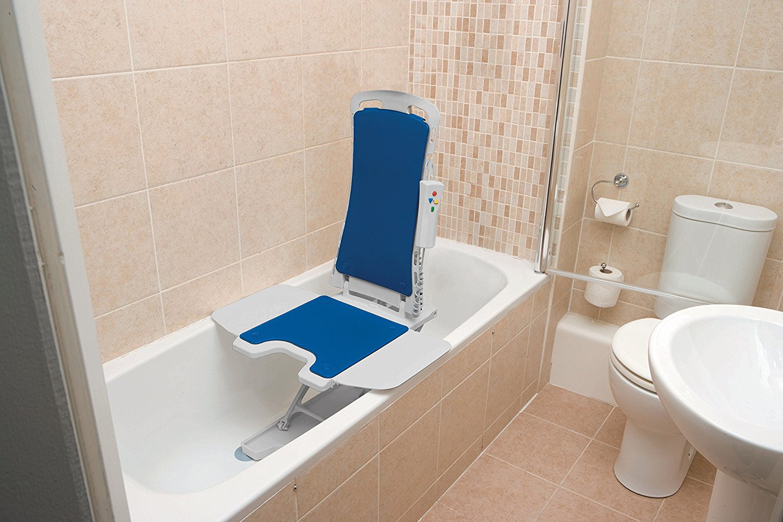 Elektrische Badlift Ergonomisch Bellavita Blauw